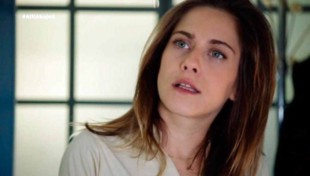 Carmen se queda pasmada al saber lo que ha hecho Iñaki por enamorarla