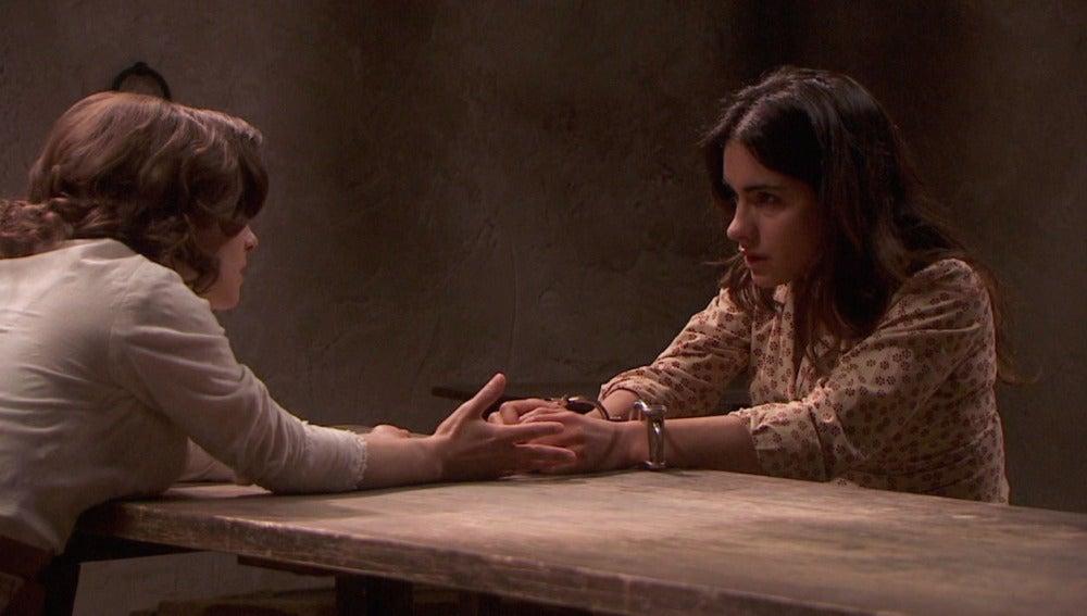 """Inés confiesa a Candela que es """"una asesina"""""""