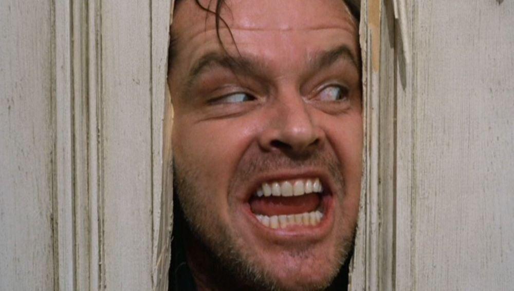 Jack Nicholson en 'El Resplandor'