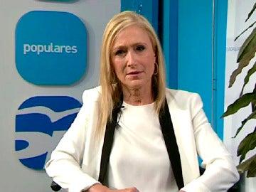 Cristina Cifuentes, en Espejo Público