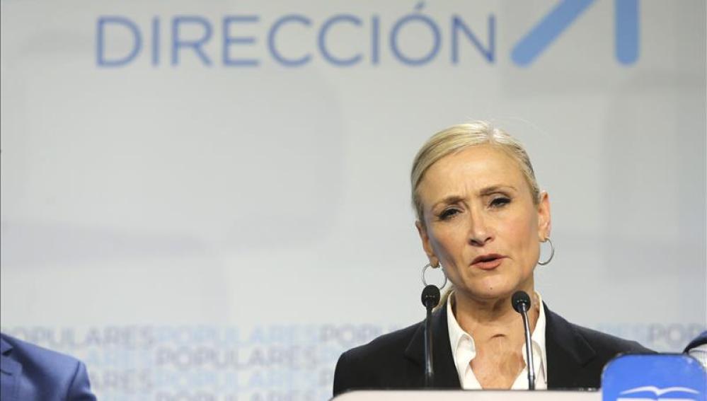 Cristina Cifuentes, candidata del PP a la Comunidad de Madrid