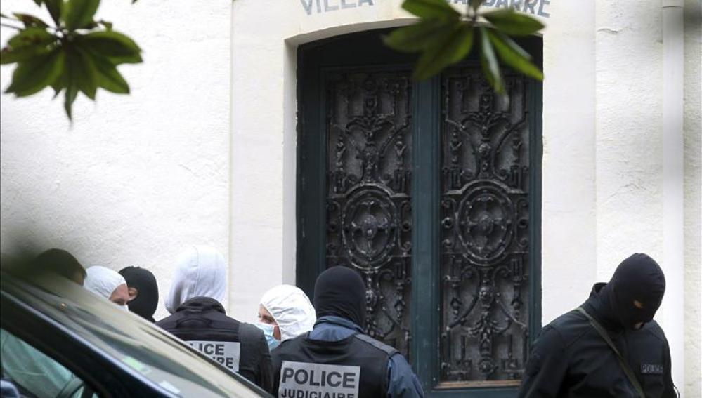 La detenida en Francia es la dueña de una vivienda en Biarritz