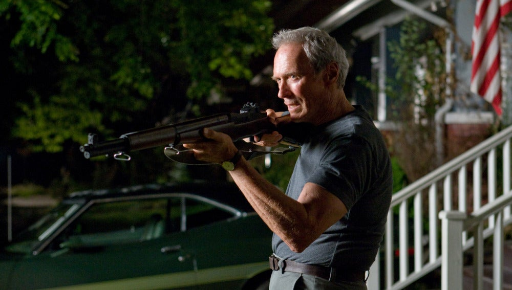 'Gran Torino': marcó el regreso de Eastwood a un papel estelar después de cuatro años; ya que el último había sido en la película 'Million Dollar Baby' en el año 2004.