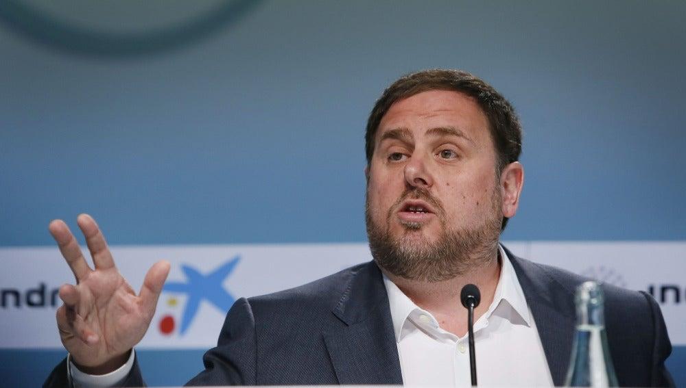 Oriol Junqueras, reelegido como presidente de ERC con más del 92% de los votos