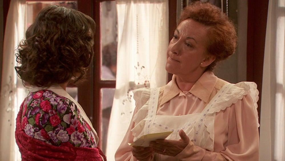 Dolores despide a Gracia