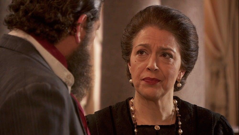 Francisca confiesa a Mauricio que está detrás de   la desaparición de Sol
