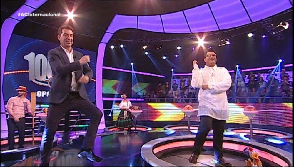 ¡Ahora Caigo! a ritmo de Gangnam Style