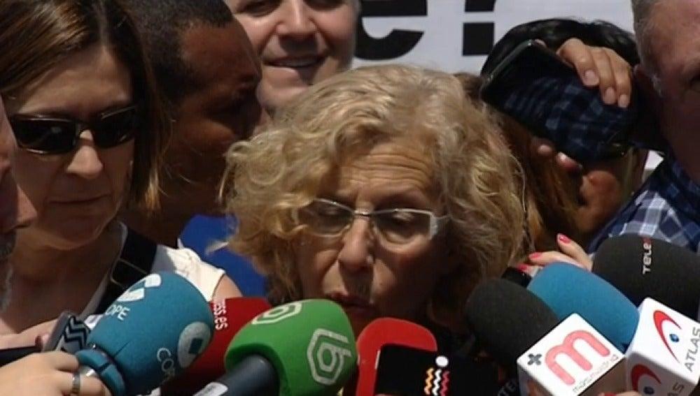 """Carmena se reúne con el presidente de Bankia: """"Tienen vocación de apertura"""""""