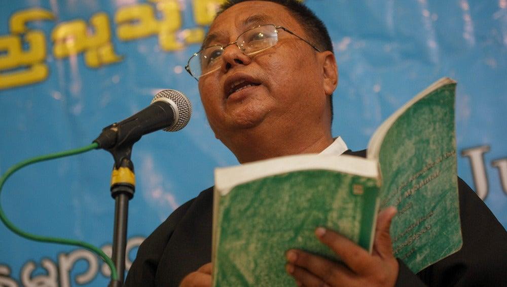Thein Than Oo, abogado del político condenado