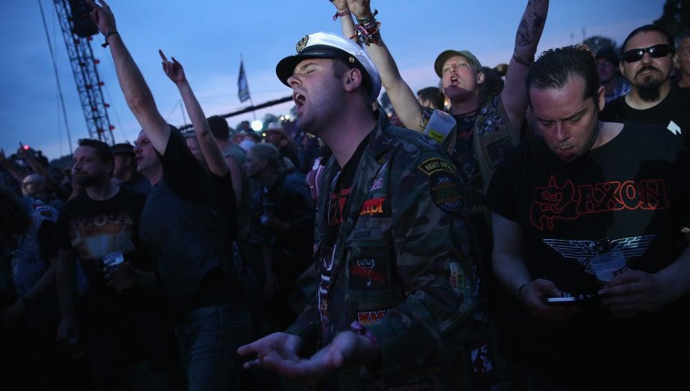 Fans del heavy metal