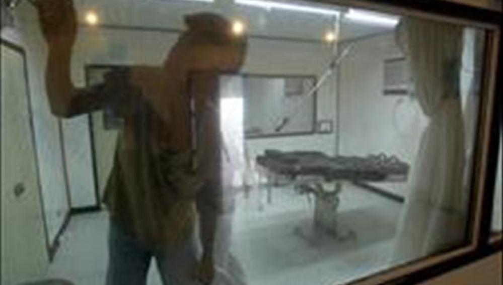 Una sala de ejecución en un penal de EEUU.