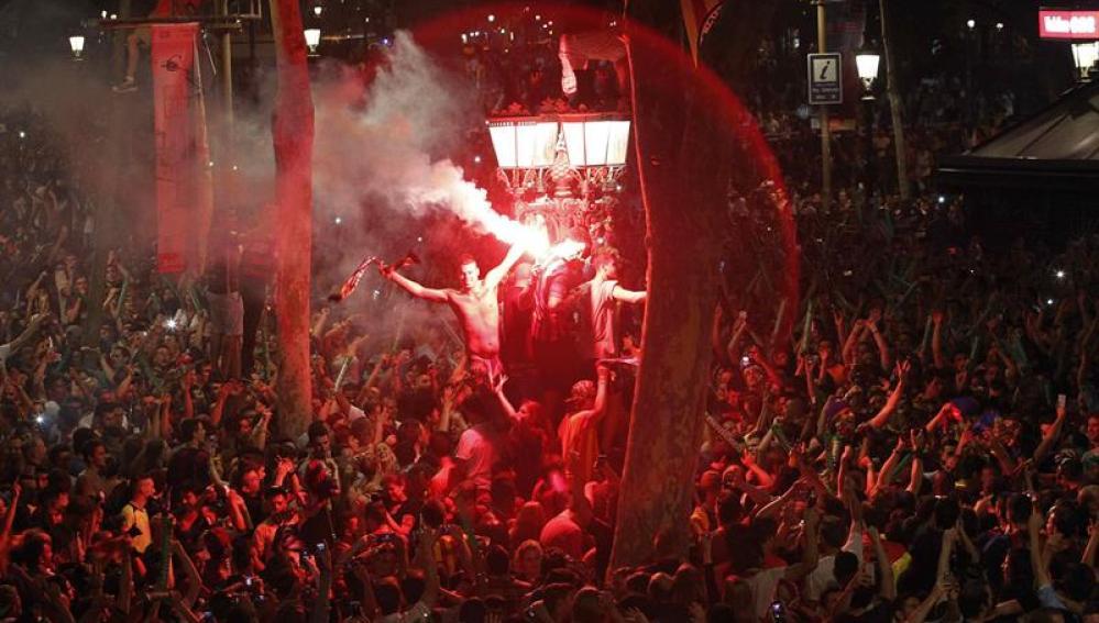 Celebraciones en Canaletas