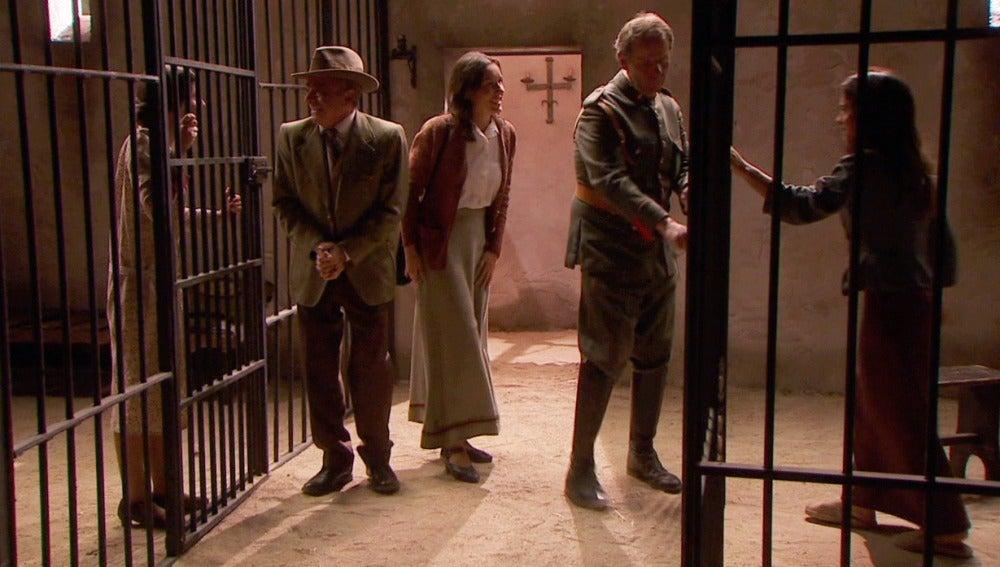 Inés sale de prisión