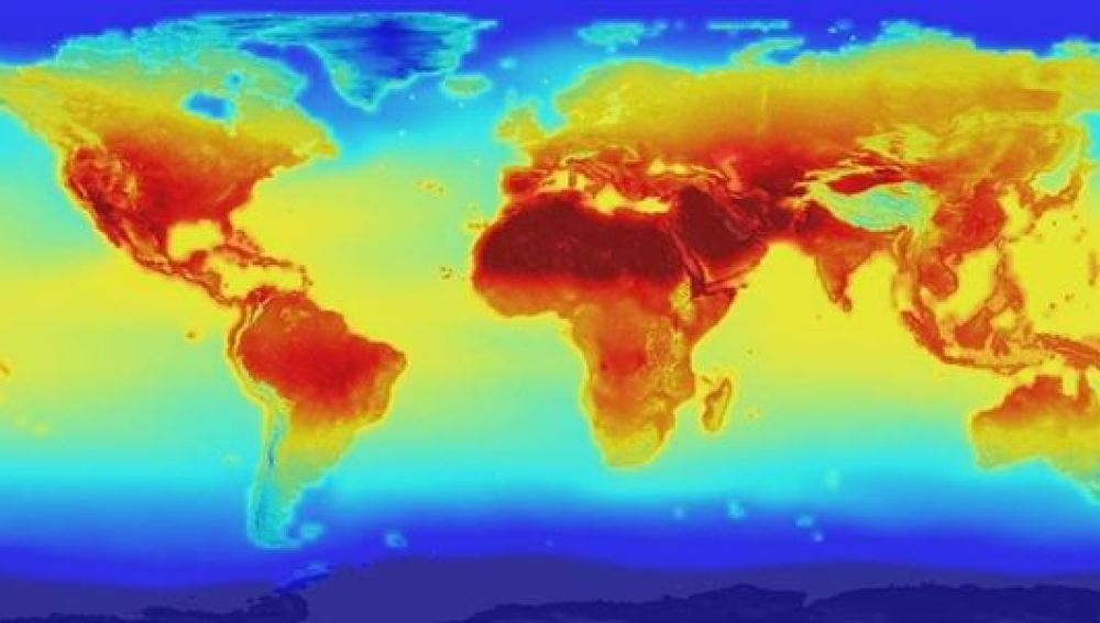 Proyección del cambio climático a escala global