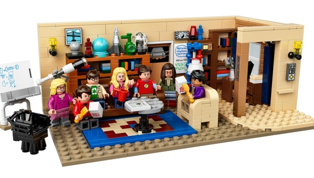SET LEGO THE BIG BANG THEORY