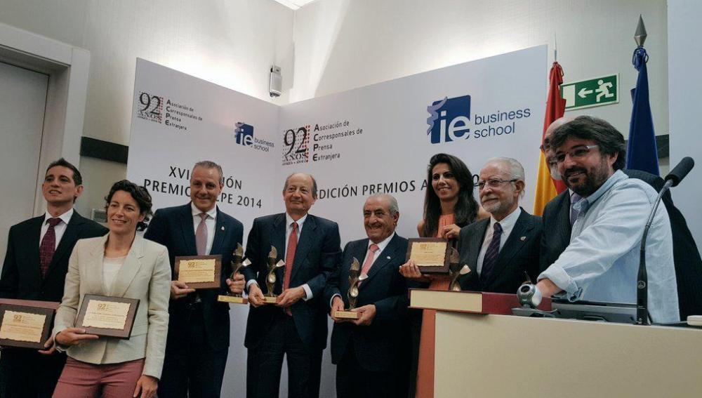 Ana Pastor y Jordi Évole, premiados por la ACPE