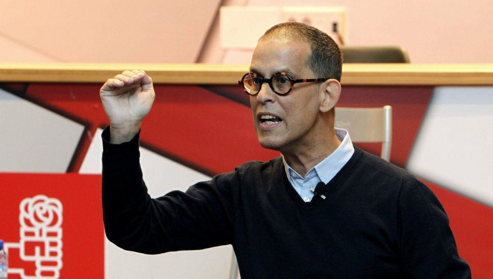 El socialista Pedro Zerolo en un acto del PSOE en Madrid.