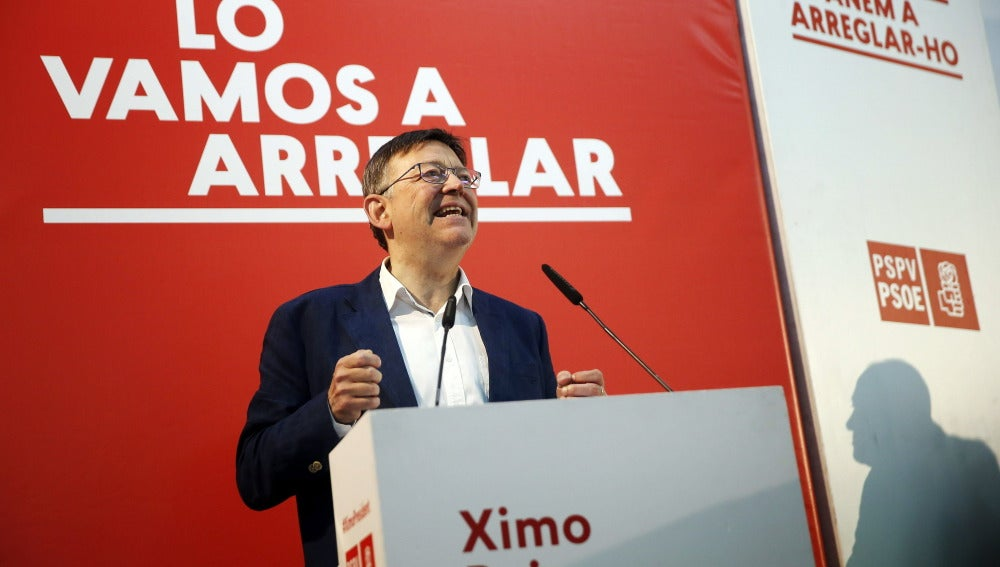 Ximo Puig, del PSPV