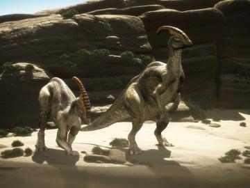 Instantánea de la serie 'El último día de los dinosaurios'