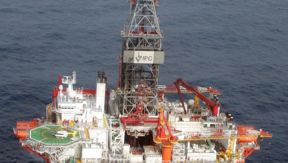 Plataforma petrolera de aguas profundas en el estado mexicano de Veracruz