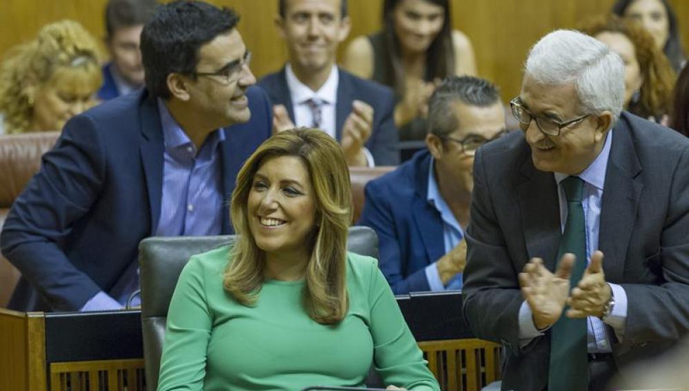 Susana Díaz, investida presidenta de Andalucía