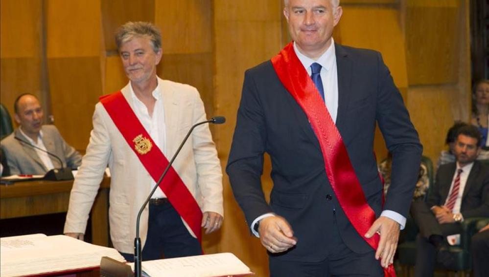 Pedro Santisteve, de ZEC, alcalde de Zaragoza con el apoyo del PSOE y CHA