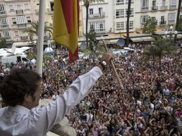 'Kichi', nuevo alcalde de Cádiz