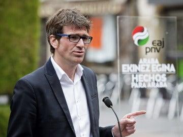 Gorka Urtaran (PNV) ha sido elegid alcalde de Vitoria