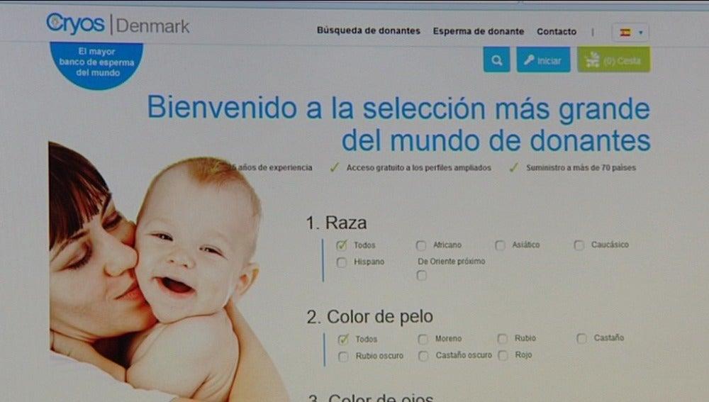 Una empresa danesa permite elegir al donante de esperma a la carta y te lo manda a casa