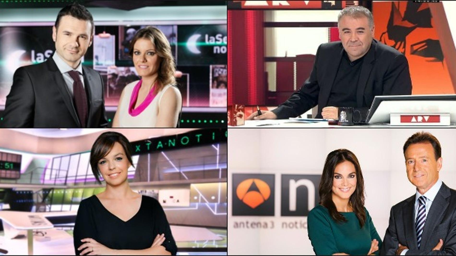 Atresmedia TV, líder de información política en un sábado histórico