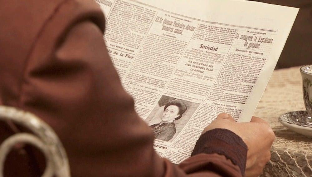 La prensa informa de la estafa de Francisca