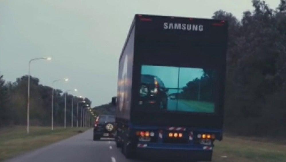 Camiones con pantalla