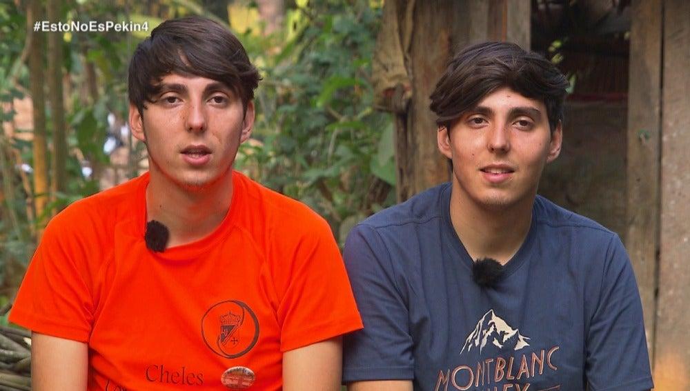 Los gemelos de 'Pekín Express'