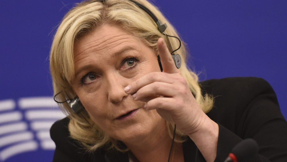 La líder del partido francés Frente Nacional, Marine Le Pen