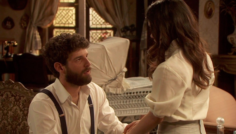 Bosco pide matrimonio a Inés
