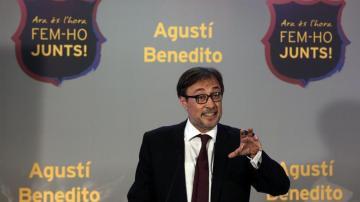 Agustí Benedito, excandidato a la presidencia del Barça