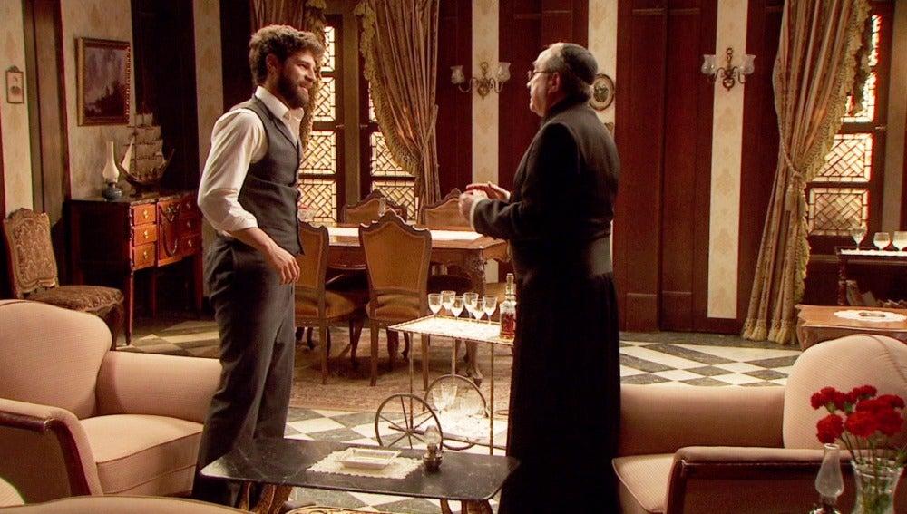 Bosco pide a don Anselmo acelerar su boda