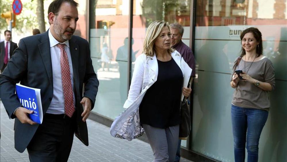 Los consejeros de Unió dejan el Gobierno catalán