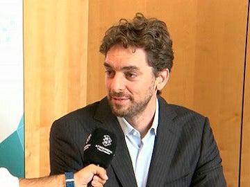 Entrevista de Pau Gasol en el SUMMIT 2015