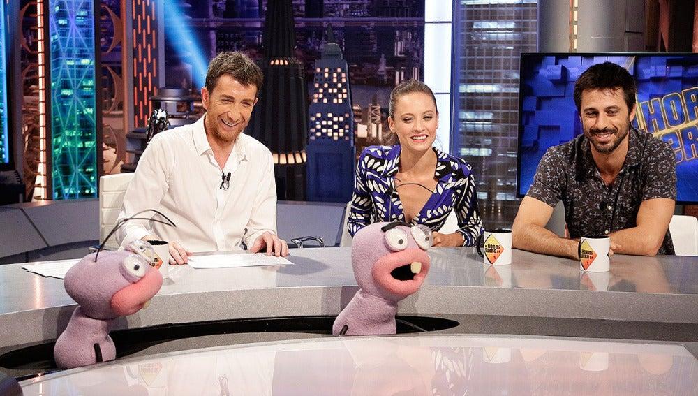 Hugo Silva y Michelle Jenner con Trancas y Barrancas