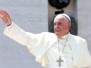 El papa Francisco en audiencia pública