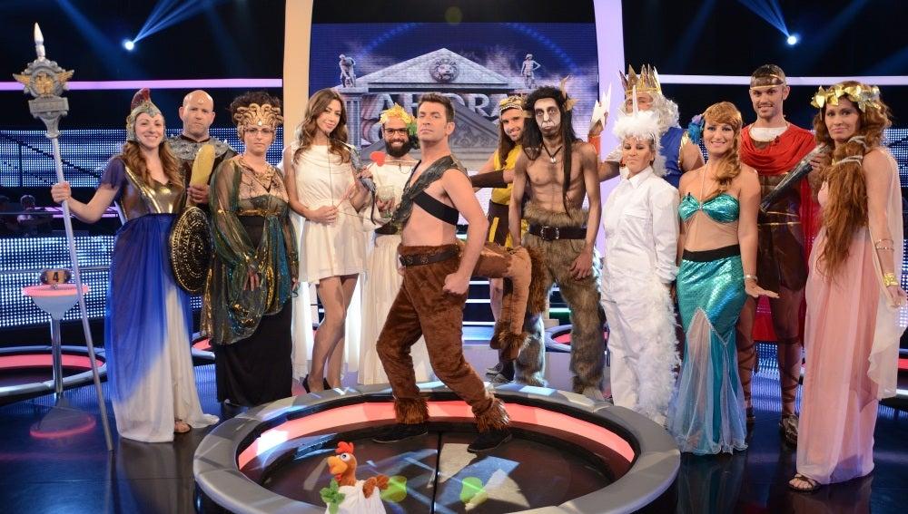 Arturo Valls Personajes mitológicos