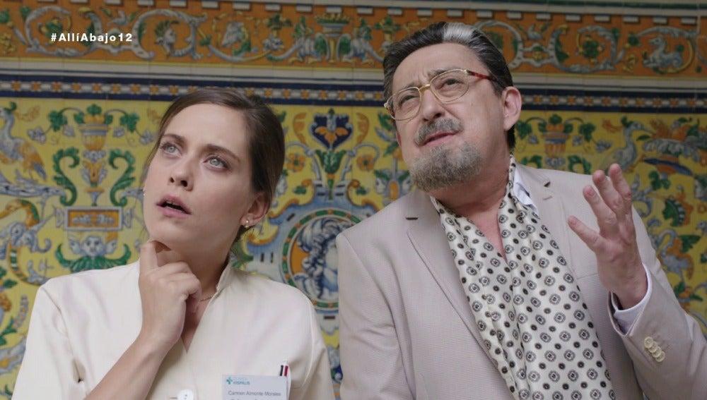 Carmen y Don Benjumea