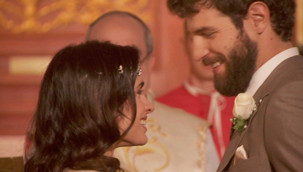 Bosco e Inés ya son marido y mujer