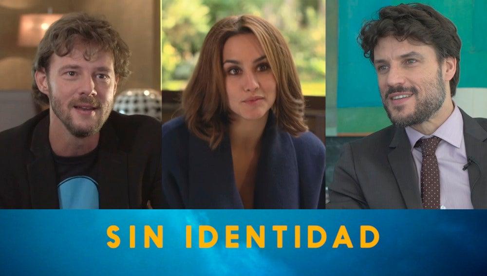 Eloy Azorín, Megan Montaner y Daniel Grao