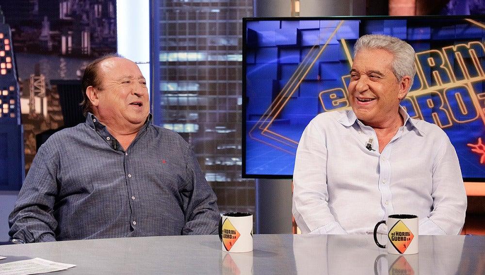 Andrés Pajares y Fernando Esteso en El Hormiguero 3.0