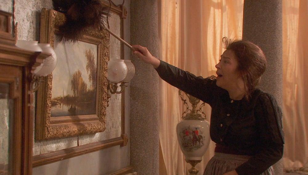 Francisca asumirá las tareas del hogar