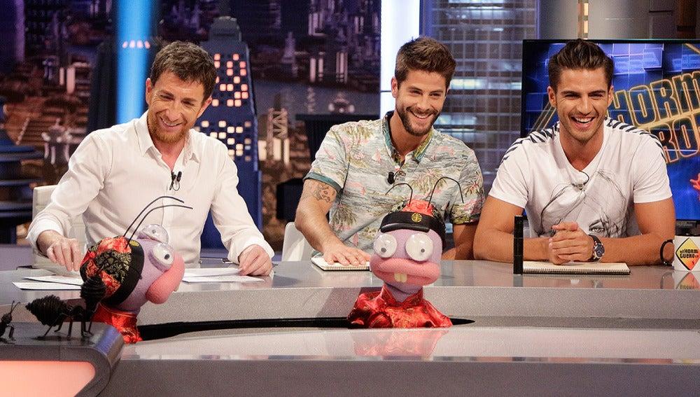 Maxi Iglesias y Luis Fernández con Trancas y Barrancas