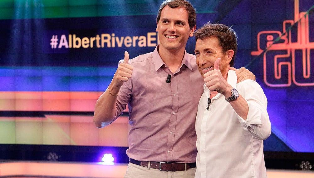 Albert Rivera en El Hormiguero 3.0