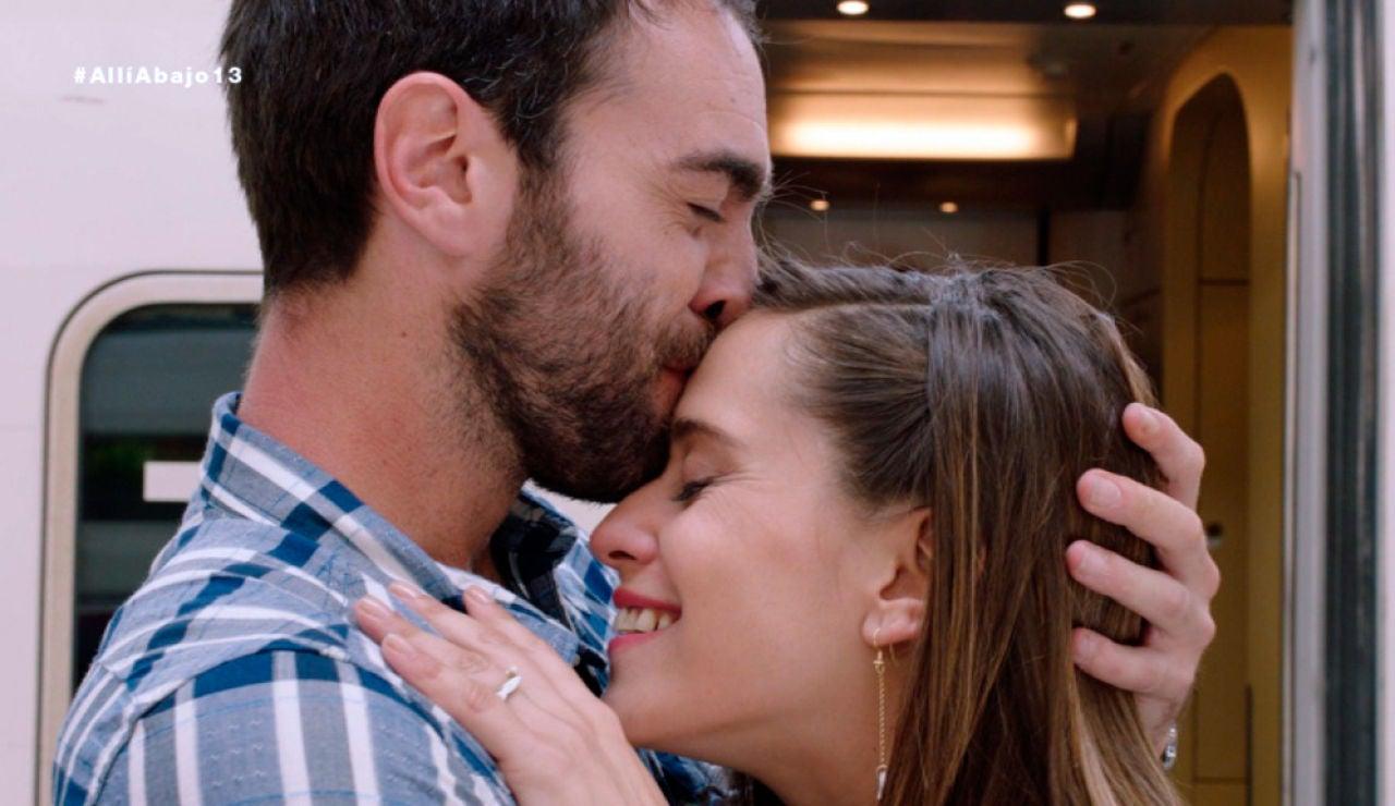 Carmen frena la marcha de Iñaki con un 'Te quiero'
